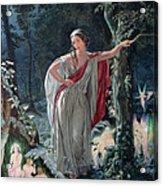 A Midsummer Nights Dream Hermia Acrylic Print