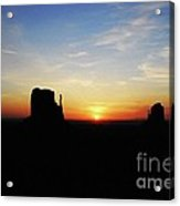 A Monumental Morning Acrylic Print