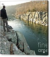 A Morning At Mathers Gorge Acrylic Print