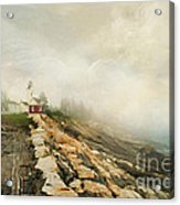 A Morning In Maine 2 Acrylic Print by Darren Fisher