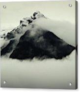 A Mountain Scene Acrylic Print