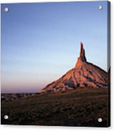 A Mountain Surrounded By Prairies Acrylic Print