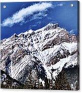 A Mountain View Acrylic Print
