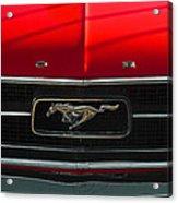 A Mustang  Acrylic Print