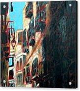 A Narrow Street Acrylic Print