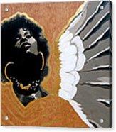 A Natural Angel Acrylic Print