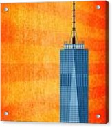 A New Day - World Trade Center One Acrylic Print