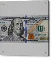 A New Franklin Acrylic Print