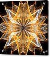 A New Year's Star 2014 Acrylic Print