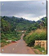A Nice Nigerian Road Acrylic Print