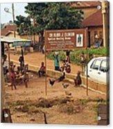 A Nigerian Doctor's Office Acrylic Print
