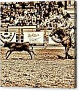 A Night At The Rodeo V11 Acrylic Print