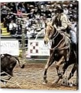 A Night At The Rodeo V12 Acrylic Print