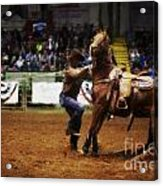 A Night At The Rodeo V13 Acrylic Print