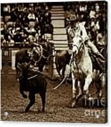 A Night At The Rodeo V14 Acrylic Print