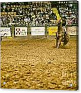 A Night At The Rodeo V15 Acrylic Print