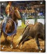 A Night At The Rodeo V18 Acrylic Print
