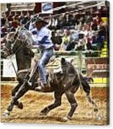 A Night At The Rodeo V19 Acrylic Print