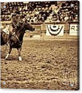 A Night At The Rodeo V22 Acrylic Print