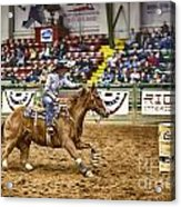 A Night At The Rodeo V27 Acrylic Print