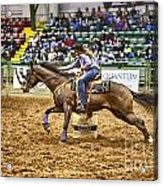 A Night At The Rodeo V28 Acrylic Print