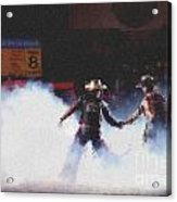 A Night At The Rodeo V3 Acrylic Print