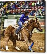 A Night At The Rodeo V30 Acrylic Print