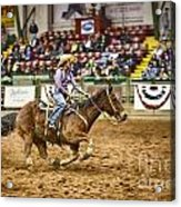 A Night At The Rodeo V31 Acrylic Print