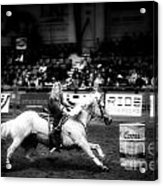 A Night At The Rodeo V33 Acrylic Print