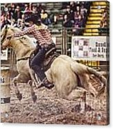 A Night At The Rodeo V34 Acrylic Print