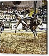 A Night At The Rodeo V36 Acrylic Print