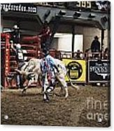 A Night At The Rodeo V39 Acrylic Print