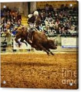 A Night At The Rodeo V7 Acrylic Print