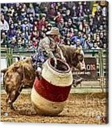 A Night At The Rodeo V9 Acrylic Print