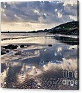 A November Afternoon At Lyme Regis Acrylic Print