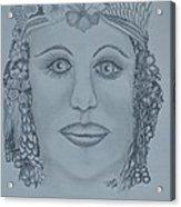 A Nubian Princess Acrylic Print