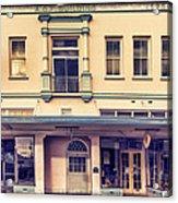 A. O. F. Building 1925 Hilo Acrylic Print