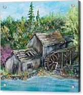 A Old Mill Acrylic Print