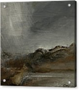 A Painting A Day 7 Abstract Landscape Painting Original Signed Painting  Acrylic Print