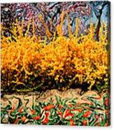 A Painting Springtime 2 Dali-style Acrylic Print