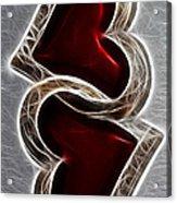 A Pair Of Hearts Acrylic Print