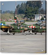 A Pair Of Hellenic Air Force T-2 Acrylic Print