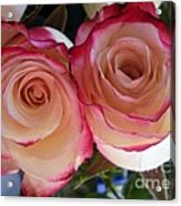 A Pair Of Roses  Acrylic Print