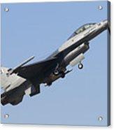 A Pakistan Air Force F-16a Block 15 Acrylic Print
