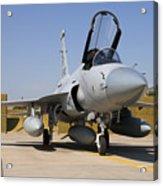 A Pakistan Air Force Jf-17 Thunder Acrylic Print