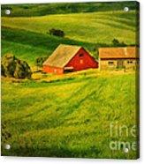 A Palouse Farm Acrylic Print