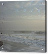A Pastel Seaside Story Acrylic Print
