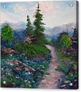 A Path Unknown Acrylic Print
