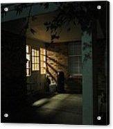 A Peaceful Corner Entrance Acrylic Print