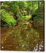 A Peaceful Glen Acrylic Print